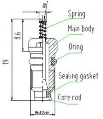 Hydraulic valve hydraulic valve spool
