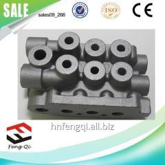 Hydraulic valve of molding of cast iron of foundry