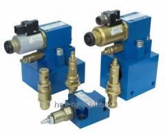 Electric hydraulic control valve apparatus