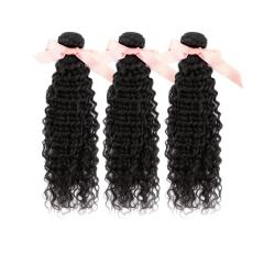 Deep Curly Malaysian Virgin Remy Hair Extensions