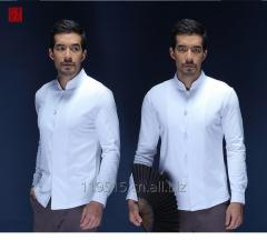 DongFangErNv Long sleeves top shirts for men Tang