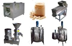 Multiple Capacity Peanut Butter Production Line