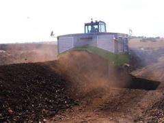 Compost Turner | Compost Windrow Turner for