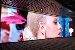 LED screen internal P4 alyuminivy office