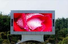 Big LED outdoor P6 screens information and