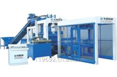 QT12-15 Full Automatic Concrete Block Making Machine
