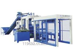 QT10-15 Full Automatic Concrete Block Making Machine