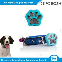 Waterproof smart diy pet dog collars cat gps pet tracker with WIFi anti-lost tracking system