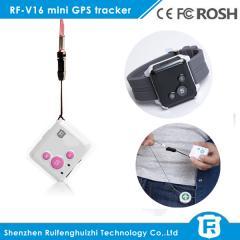 Smallest mini kid gps tracker armband SOS bracelet and two way communicator GPS tracker
