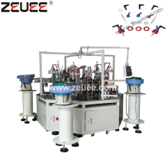 Sprayer nozzle automatic assembly machine