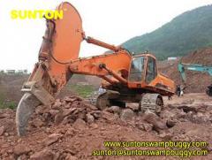 Excavator Short Boom