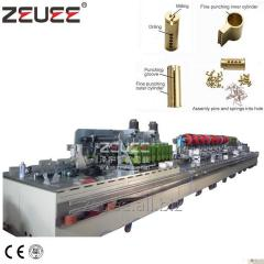 Security lock cylinder auto production line