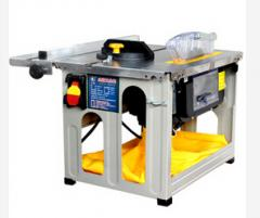 No-dust mini table saw for cutting wooden floors