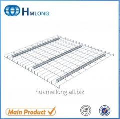 U channel Box beam stable inverted wire decking for racking