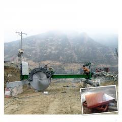 HQJ-2200桥式自动升降墓碑石料大型锯石机切割机
