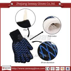 SeeWay F500 Heat Protect Up to 932F Kitchen Gloves