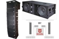 "LA-215 dual 15"" Pro outdoor line array speaker"