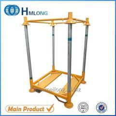 M-6 Big bag support Warehouse storage pallet steel stacking rack