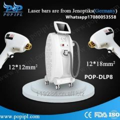 808nm diode laser big spot size treatment headpiecel Vertical 808 diode laser machine from china factory pop ipl  POP0-DLP8