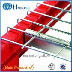 Inverted U channel Steel galvanized wire mesh us standard flared deck for racks