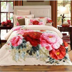 Cotton bedding sets 40x40 133x72 reactive print