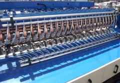 Machines for manufacturing of metallic grid