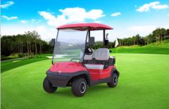 Golf car model A627, 2 seater electric golf car