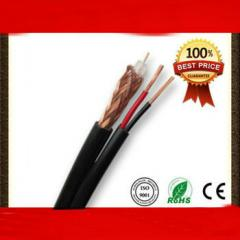 Professional Siamese 75ohm RG59 Power cable