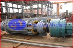 Heavy plate feeder cement machine