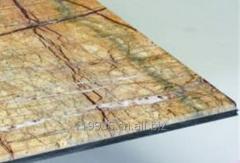 Granite aluminium composite panel