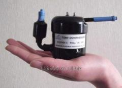 Rotary 24V DC Mini Refrigeration Compressor R134A 150~300W for Water Dispenser, Ice Maker, Vehicle&Vessel&Camping