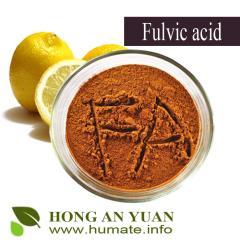 Distribution fulvic acid and humic acids used in