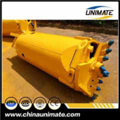 Unimate rock drilling auger /bucket for piling