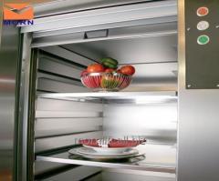Restaurant dumbwaiter lift for kitchen food