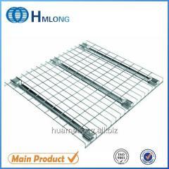 F channel Mild steel heavy duty zinc wire mesh decking