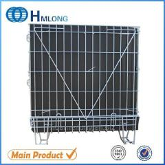 F-14 Welded stackable storage mesh wire container