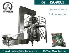 Automatic Granules Chips Nuts Packaging Machine with 10 Electric Scales Filling