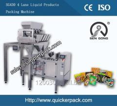 Automatic Ziplock Bag Granules Chocolate Candy Packaging Machine