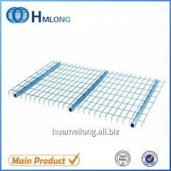 Inverted U channel Zinc steel wire welded deck design for shelves