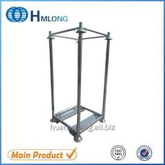 M-6 Big bag support Industrial foldable metal steel stacking rack