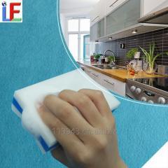 Soap Inbuilt Kitchen Sponge Cleaning Melamine Foam Magic Eraser
