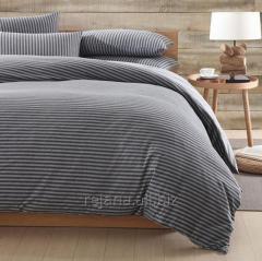 Jersey de algodón ropa de cama de la hoja de 32s