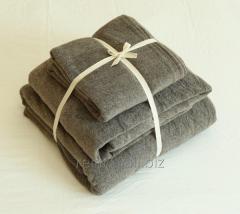 De algodón de rizo hoja de cama 32s 220grams / m²