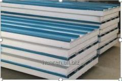 Rock cotton wool composite panels