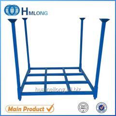 HML6060 Industrial foldable metal steel stacking pallet