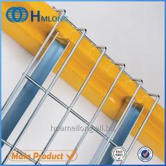 U channel Material handling steel wire mesh decking for pallet racking