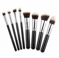 MSQ Synthetic 8 Piece Makeup Brush Set