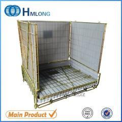 F-22 PET Preform storage metal wire mesh container