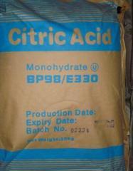 Monohydrate acidum citricum