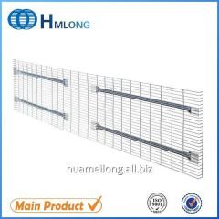F channel Logistic warehouse document storage galvanized wire load deck